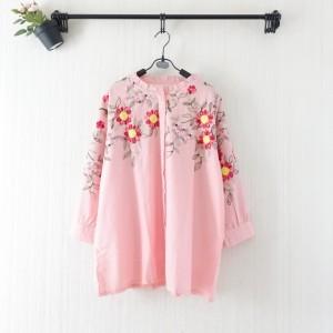 AV Himawari Embroidery Top